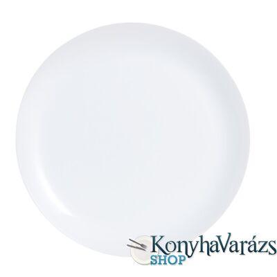 DIWALI FEHÉR tányér desszert 19 cm