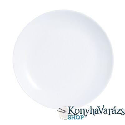 DIWALI FEHÉR tányér lapos 25 cm