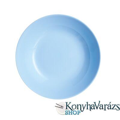 DIWALI LIGHT BLUE tányér mély 20 cm
