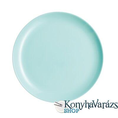DIWALI LIGHT TURQUOISE tányér lapos 27 cm