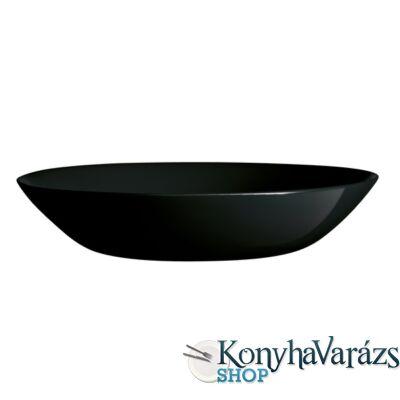 DIWALI FEKETE tányér mély 20 cm