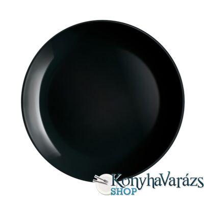DIWALI FEKETE tányér lapos 27 cm