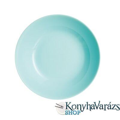 DIWALI LIGHT TURQUOISE tányér mély 20 cm