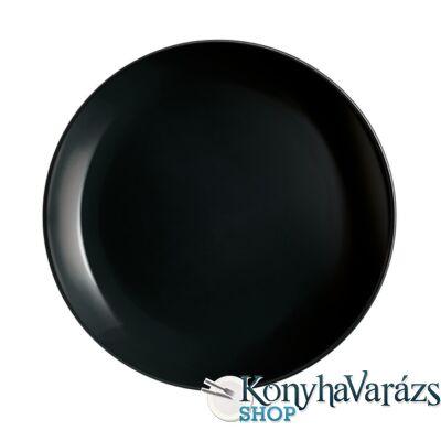 DIWALI FEKETE tányér desszert 19 cm