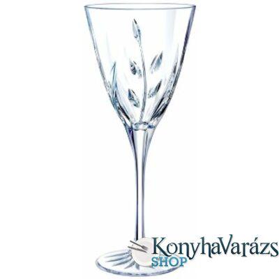 CASSANDRA talpas fehérboros pohár 17 cl 6 db