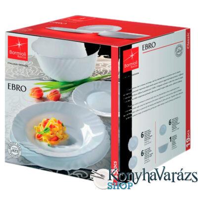 Ebro étkészlet 19 r. /fehér/